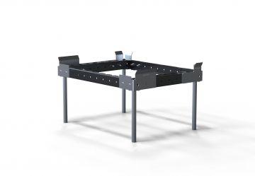 Sub Frame Half-EUR Pallet Carts 800 x 600 mm