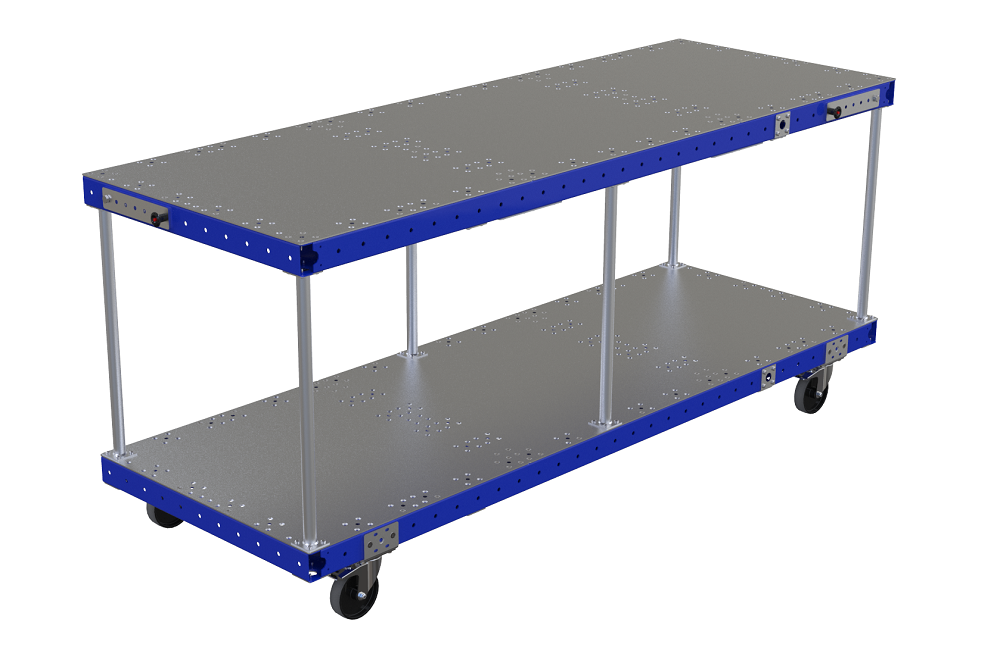 Assembly cart w.Locking - 2170 x 770 mm