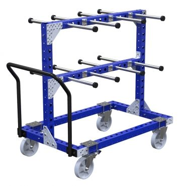 Cart with Hangers - 840 x 1330 mm