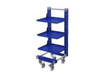 Removable Shelf Cart for E-Frame