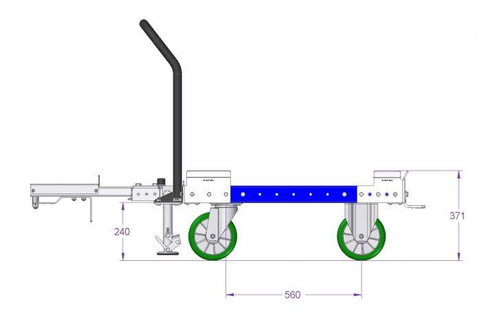 Tugger Cart - 840 x 910 mm