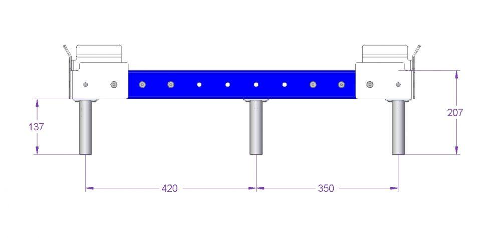 Sub Frame - 840 x 910 mm
