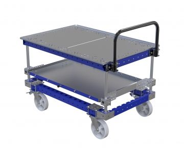 High Pallet Cart With Extra Tray