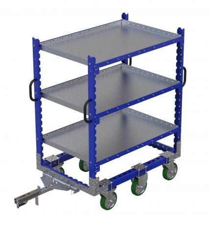 Flat Shelf Cart 1260 x 840 mm