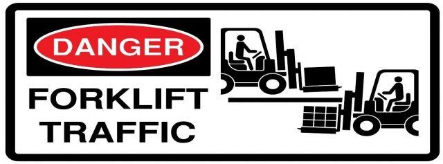 Danger Forklift Traffic