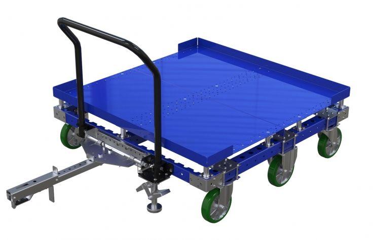 Flat Deck Engine cart - 50 x 50 inch