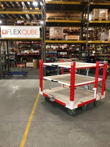 ABB re-designs FlexQube carts - saving money and time