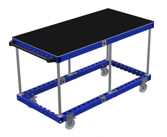 Assembly Cart with Flat Deck 1540 x 770 mm