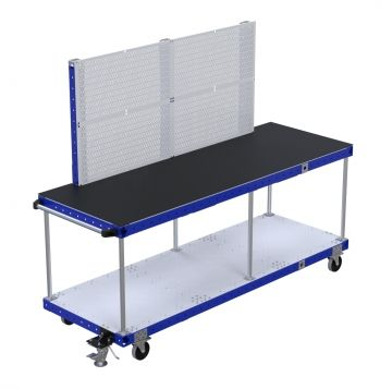 Assembly Cart with Pegboard - 770 x 2170 mm