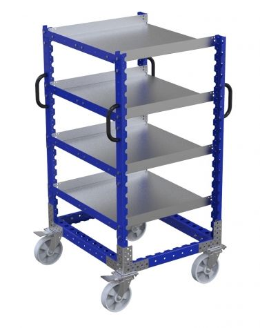 Flat Shelf Cart - 770 x 910 mm
