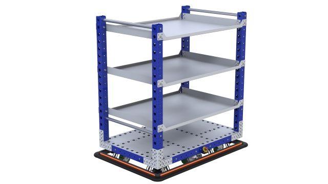 Flat Shelf EU eQart - 840 x 1260 mm