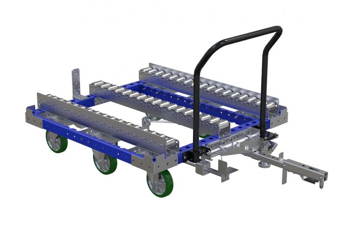 Pallet Transfer Cart - 50 x 50 inch