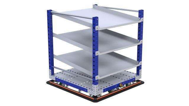 eQart - Flow Shelf US 48 x 48 inch