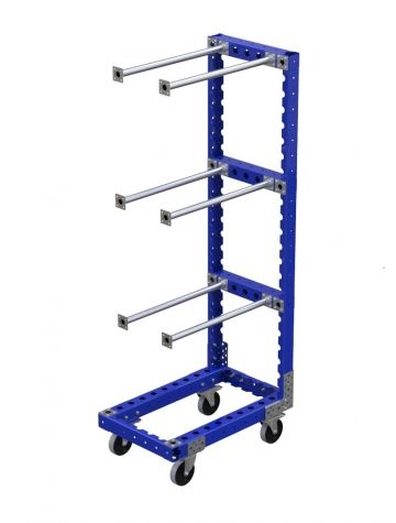 Cart With Horizontal Hangers-770 x 490 mm