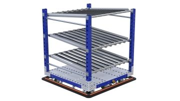 eQart - Flow Rack US 48 x 48 inch