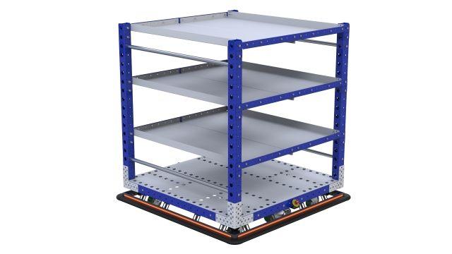 eQart - Flat Shelf US 48 x 48 inch