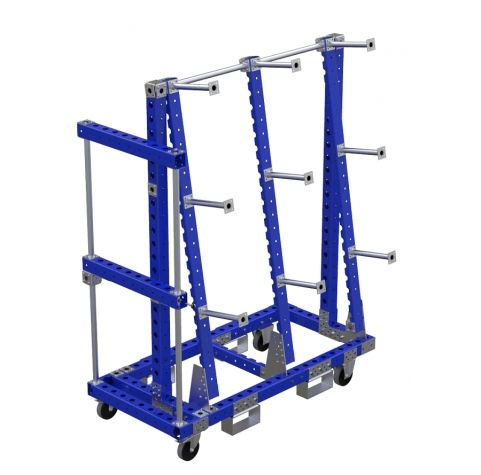 Hose Cart With Swingable Arm - 1470 x 700 mm