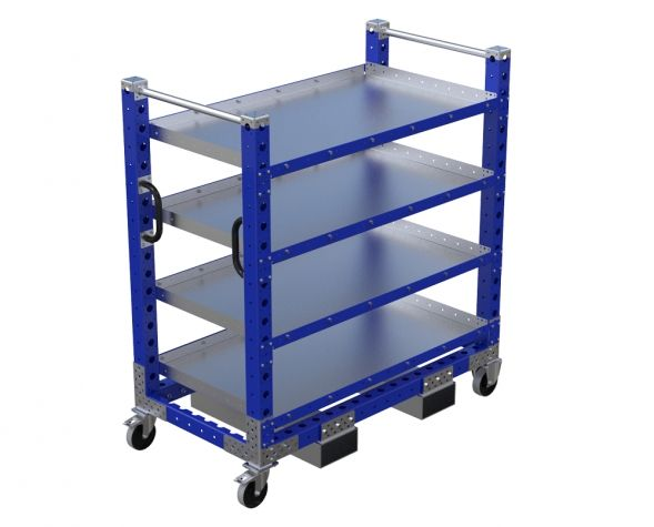 Flat Shelf Cart - 1330 x 700 mm