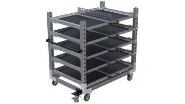 Extendable Shelf Cart - 910 x 1400 mm