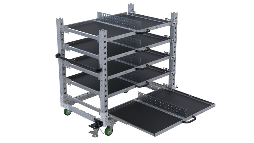 Extendable Shelf Cart-910 x 1400mm
