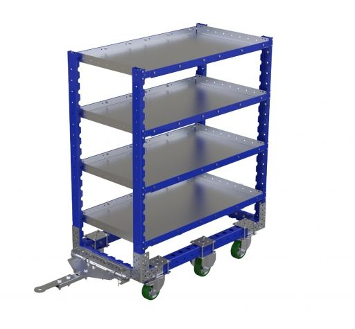 Flat Shelf Cart 630 x 1190 mm