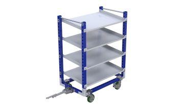Q-100-2122 Flow Shelf Cart - 840 x 1400 mm