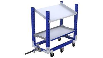 Q-100-2202 Shelf Cart - 630 x 1190 mm