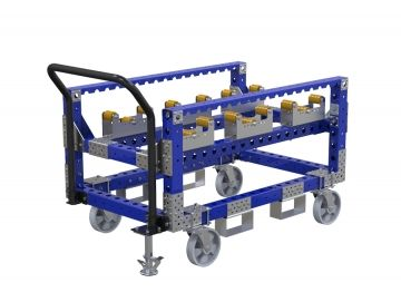 Gearbox Prep Cart - 840 x 1260 mm