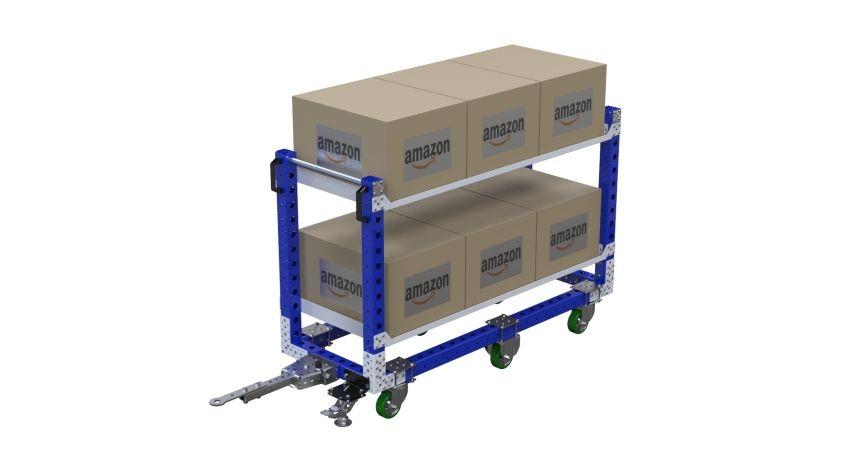 Flat Shelf Cart - 630 x 1680 mm