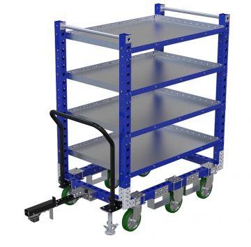 Flat Shelf Cart - 1330 x 840 mm