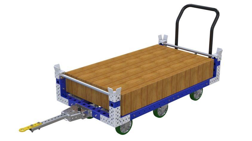 Pallet Tugger Cart - 840 x 1610 mm