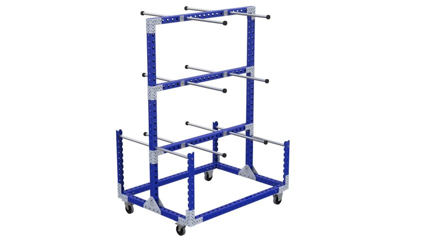 Q-100-2455 Hanging Cart - 1260 x 1680 mm