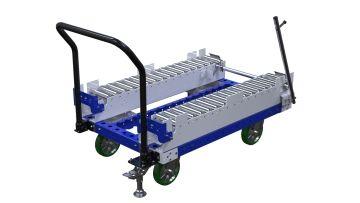 Q-100-2519 B-Frame Roller Cart - 840 x 1260 mm