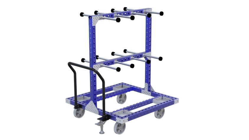 Q-100-2574 Hanging Cart - 1260 x 1260 mm