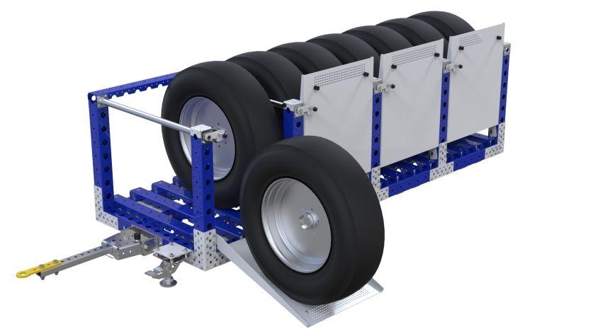 Tire Cart - 840 x 2310 mm