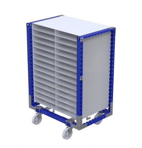 Compartment Cart For 560 x 100 mm Slots