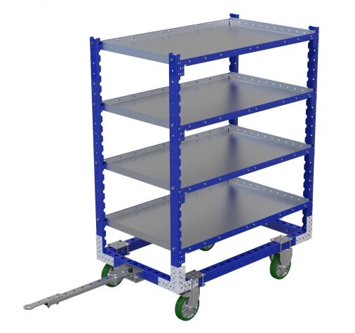 Flat Shelf Cart - 1400 x 840 mm