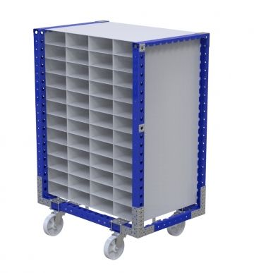 Compartments Cart for 280 x 120 mm slots
