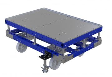 Push Cart With Flat Deck - 1260 x 840 mm