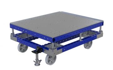 Push Cart With Top Plate - 40 x 48 inch