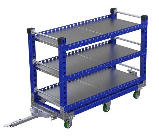 Flat Shelf Cart - 1680 x 700 mm