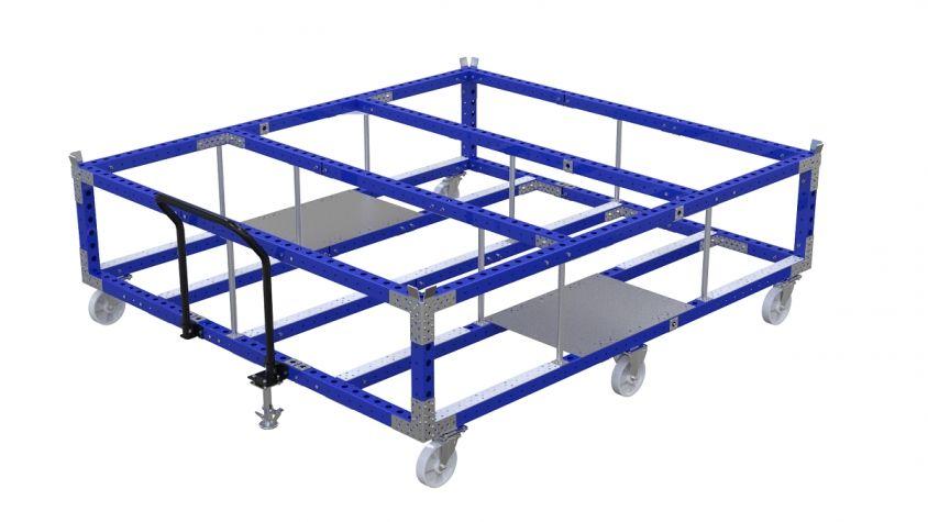 Large Heavy Duty Cart - 2800 x 2520 mm