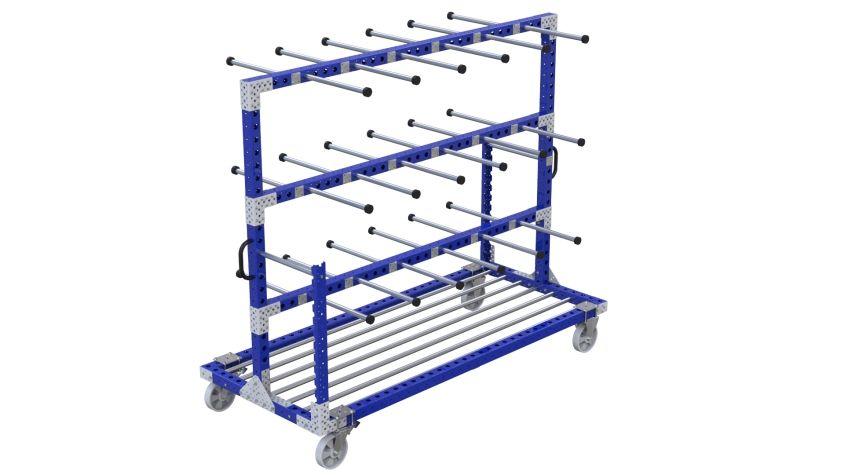 Q-100-2269 Hanging Cart - 1050 x 2450 mm