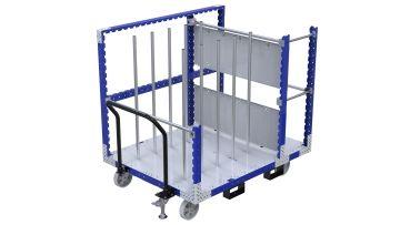 Q-100-2392 Cart for Cardboard - 1260 x 1610 mm
