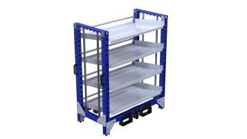 Q-100-2390 Flow Shelf Rack - 630 x 1260 mm