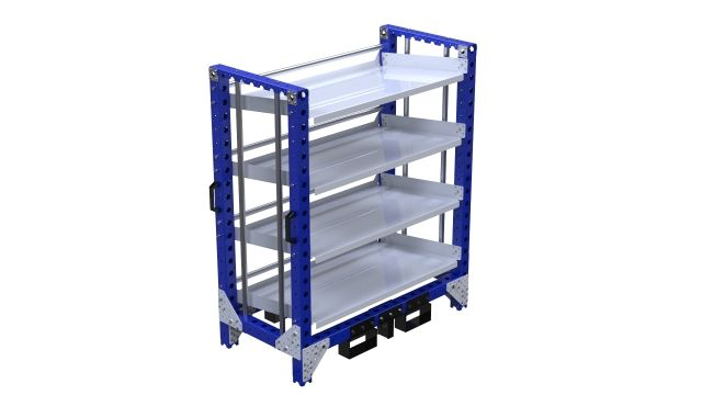 Q-100-2390 Flow Shelf Rack - 630 x 1260 mm