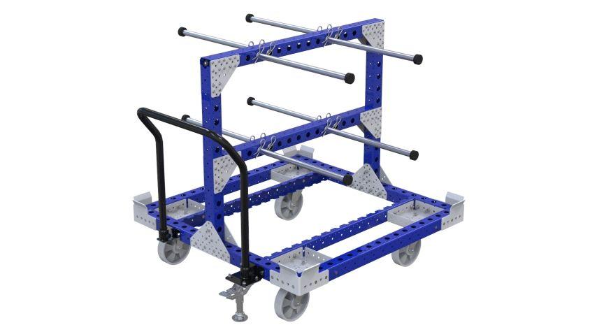 Q-100-2376 End Cap Kit Cart - 1260 x 1260 mm