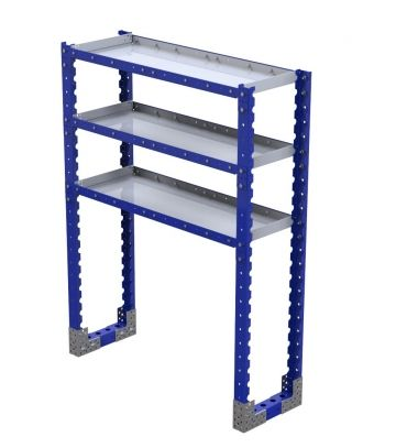 Flat Shelf Rack - 1260 x 420 mm