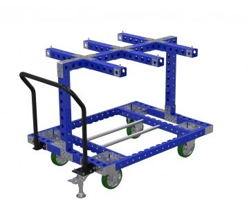 Wire Bobbin cart - 1330 x 980 mm