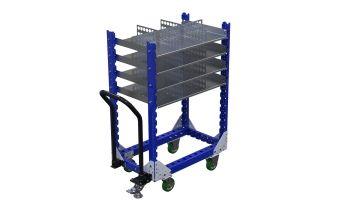 Q-100-2336 Shelf Cart - 560 x 980 mm